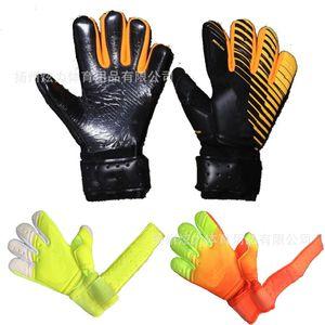 SGT взрослый футбол внутри шва вратарь ладонь против скольжения утолщенные защитные перчатки без охрана пальцев l0qu