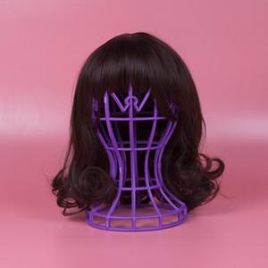 2021 Gute Qualität Hersteller Heißer Verkauf Faltbare Perücke Halterung Neue PP Material Platzierung Haarschmuck Wig Tool Spot