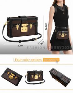 Fast Shipping Fashion Women Toiletry Pouch Clutch Shoulder Bag PETITE MALLE Canvas Icons Handbag M44199 Shoulder box Bags Size:20cm*12cm*5cm