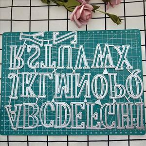 5cm 26 lettres métal coupe matries de grande taille Scrapbooking pour la création de cartes de mariage