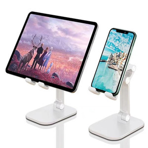 Foldable Phone Stand for Desktop Angle Height Adjustable Desktop Phone Stand Holder Bracket for iPhone 12 11 Pro Xr Xs Max iPad Kindle