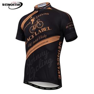 Weimostar homens ciclismo jersey 2021 pro bonde mountain bike roupas maillot ciclismo verão manga curta mtb bicicleta jersey camisa q1205