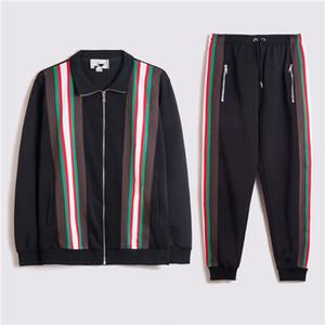 2020 hommes Designer Sweats à capuche Pantalon Set Capuche Support Hommes Sweat Suites Patchwork Noir Couleur solide Haute Qualité Hommes Sweatuits