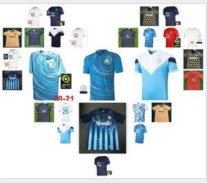 # 10 Payet Maillot de Football 2020 2021 Thauvin Radonjic Soccer Jerseys Sanson Benpayet Benedetto Gustavo 20 21 Camicia da calcio