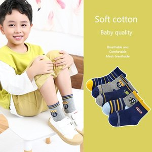 5 Pair Lot Kids Soft Cotton Socks Boy,Girl,Baby,Cute Cartoon Warm Stripe Dots Fashion Sport Socks Autumn Winter Children Gift CN