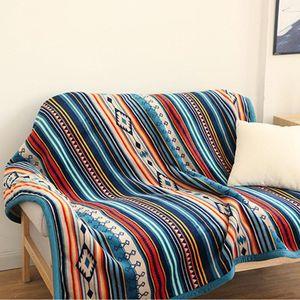 Toddler Child Lounge Chair Women Plaids Shopping Blanket Manta Drop Restaurant Quilt Hotel