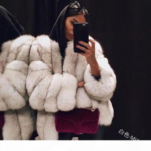 Try Everything Soft White Faux Fur Coat Woman Winter Ladies Faux Fur Jacket For Women Cardigan Coat Female Winter 2019 Clothes SH190923