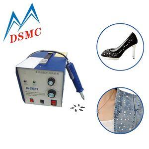 Ultrasonic rhinestone applicator Crystal hot fix machine