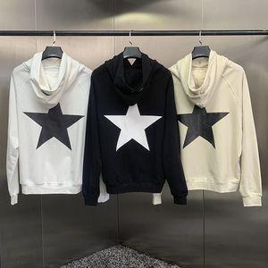 19fw Pentacle Sweat à capuche Streetwear Fashion Mens Sweats Sweats à capuche imprimé Pull Sweatshirts hiver Taille S-XL