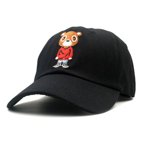 Newest Bear Dad Hat Lovely Baseball Cap Summer for Men Women Snapback Caps Unisex Exclusive Release Hip Hop Kanye West Ye Hat