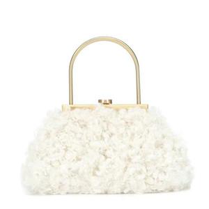 Franch style luxury designer women Lambs wool handbag single shoulder package mini chain bags free epacket shipping
