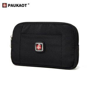 Horizontal Waist Belt Bags Casual Fanny Pack Belt Clip Bum Bags Money Wallet Purse, 4.5 5.8 6.4inch Phone Pouch Mobile Holster