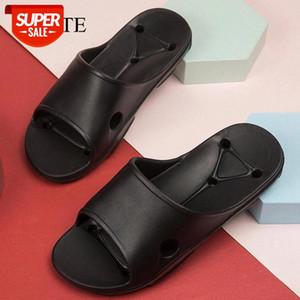Summer Men Slippers Indoor Massage Slippers Wome Man Bathroom Slides Shoes For Men Non-slip Couple Flip Flops chaussure femme #an2J
