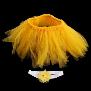 Caps & Hats 2021 Brand Design Flower Tire Girls Dress Handmade Born Baby Pography Props Kids Clothing Po Accessories