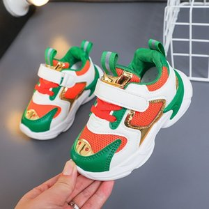 Toddler Kids Sneakers Casual Baby Boys Girls Shoes 2020 Fashion Luxury Platform Trainers Children Sneakers Shoes Tenis Infantil Z1127