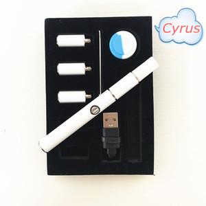 Stylo de cire portable cyrus cyrus vaporisateur dab stylo boîte emballage ECIG Vape Kit de démarreur rapide