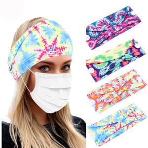 16 cores esporte headband yoga headbands brownside laço elástico tingido botões headbands headwrap trabalhando fora faixas de cabelo Z1315