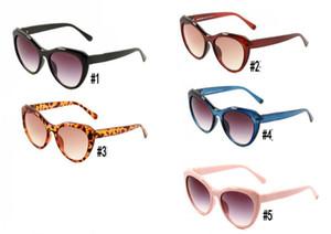 Yaz Kadın Büyük Çerçeve Güneş Gözlüğü Moda Güneş Gözlükleri Pembe Siyah Bayanlar Sürüş Plaj Gözlük Açık Rüzgar Geçirmez 5 Renkler Gife Chirstmas