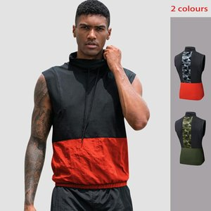 Lovmove Short Sleeve Compression Tight Running Tank Top O-neck Camouflage Quick Dry Clothes Male Sport Vest Athletic Clothing