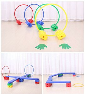 114pcs set Multifunction Kids Physical Training Hurdles Balance and Eye Coordination Toy Crawling Training Equipments Tool