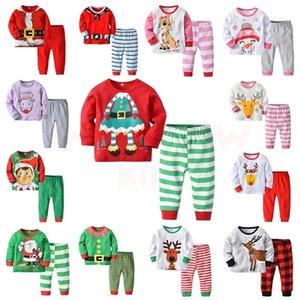 Christmas Pajamas for Girls Sleepwear Kids Pajamas Children's Pajama for Boy Warm Pyjamas Kid Noel Girl Child Christmas Pjs 201028