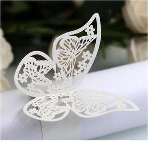 50pcs set Hollow Gold Napkin Rings Set Holder Towel Buckle Paper Ring Dinner Table Adornment Household Wedding Par qylQfX