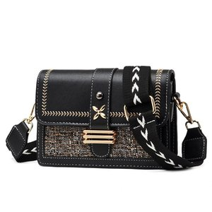 Bag Women 2020 New All-match Fashion Woven bag Ladies Small Square Shoulder Messenger Crossbody bags for women Lipstick