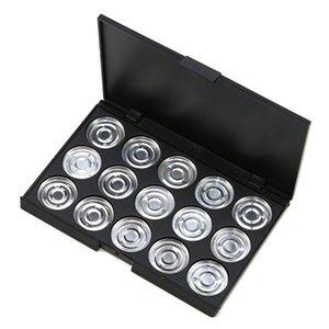 """15pcs 26mm Eyeshadow vacío Maquillaje de aluminio Pans con paleta paleta de sombras """"sin magnético"""""""