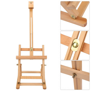 Adjustable Height Tabletop Wood Studio Art Easel Outdoor Folding H-Frame Easels Multifunctional Art Easel Artist Painting Tools Y200428