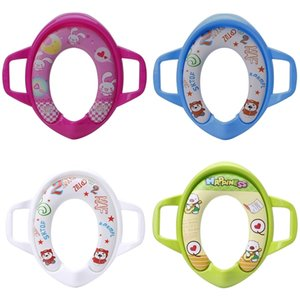 Baby Kids Infant Potty Toilet Training Children Seat Pedestal Cushion Pad Ring LJ201112