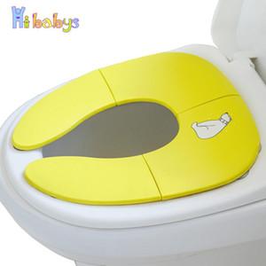 Portable Children's Pot Baby Potty Training Seat Folding Baby Toilet Seat For Kids Multifunction Child Travel Potty For Boy Girl LJ201110