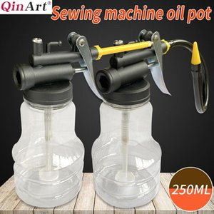 High pressure sewing machine oil pot 250ml pointed nozzle oil pot thickened and hardened empty