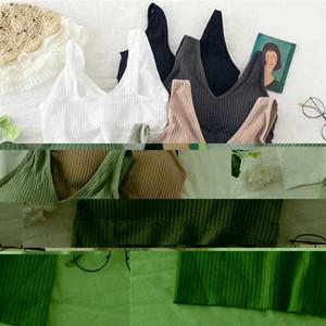 Women Sport Bras Yoga Shirt Fitness Running Vest Underwear Padded Bra Crop Sport Top Underwear Wireless Push Up Brassiere