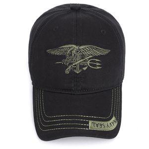 2020 Shade Cotton Classic Baseball Cap Adjustable Buckle Closure Dad Hat Sports Golf NAVY SEAL Cap Embroidered Baseball Cap