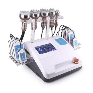 BIO portátil Bio Cavitação Unoisetion y radiofrecuencia Máquina de perda de gordura com lixos laser almofadas