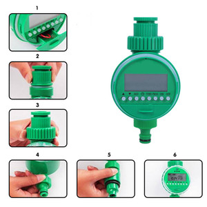LCD Intelligent Garden Water Timers Automatic Sprinkler Irrigation Timer Garden Sprinkler Timers Garden Irrigation Controllers