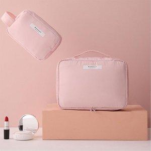 Maquillaje Empresa impermeable Bolsa de Mujer Viajes Dropshipping Bag Storage Barato Lindo Moda Portátil Cosmética Cosmética Capacidad de gran capacidad ENPOB