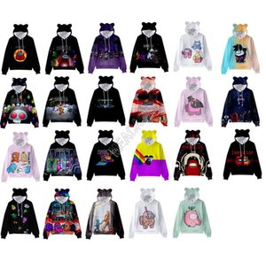 Unter den USA Frauen Kinder Tops Pullover Sweatshirts Spiel Hoodies Designer T-Shirt Mit Kapuze Pullover Junge Mädchen Langarm Bluse Kleidung D113002