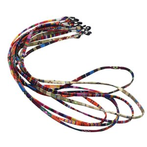 5pcs set Cotton Blend Sunglasses Multi Color Neck Cord Strap Eyeglass String Lanyard Holder Eyewear Accessories Q sqcIQF