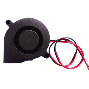 3PCS 24V DC 0.1A 50mm*50mm*15mm Blow Radial Cooling Fan For 3D Printer