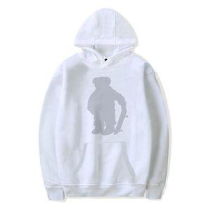 Мужчины и женские уличные стиль поло мода капюшонов зимний хлопок медведь печать хип-хоп Hoodie DydHGMC219-WY