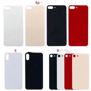 Big hole Battery Cover Rear Door Chassis Back Housing cover Glass Replacement For iphone 8 8G Plus X XR XS XS MAX
