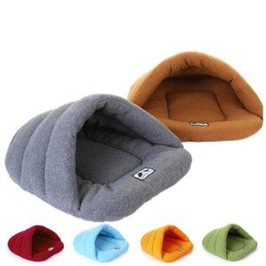 Pet Sleeping Bag Soft Polar Fleece Mat Portable Ultralight Packable Pet Bed Puppy Cave Bed Winter Warm ZYY96