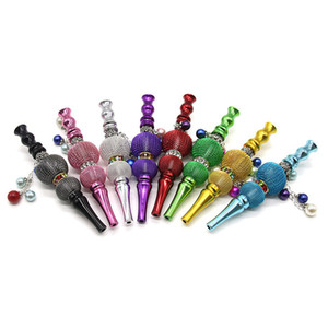 2020 price Fashion Handmade Inlaid Jewelry Alloy Hookah Mouth Tips Shisha Chicha Filter Tip Hookah Mouthpiece Mouth Tips