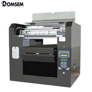 Domsem T-Shirt طابعات الملابس القماش DTG آلة الطباعة DTG A3 الحجم 8 ألوان CMYK + WWWW Printer رأس الطباعة DX5 لا تتلاشى الأحدث