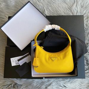 2020 Lüks Tasarımcı En Kaliteli Yeni Kadın RE-Edition Tote Naylon Deri Omuz Çantası kadın Omuz Çantası Crossbody Çanta Çanta Sıcak