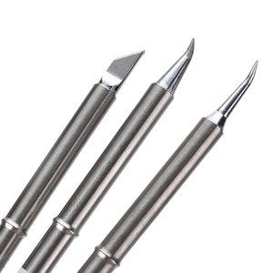 Duarble T12 Lötspitzen Silber Lötstation Tip Handgriff für HAKKO Ersatz von Schweißen