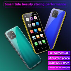 International WhatsApp Sbloccato 4G LTE New Goophone Mini Android Cell Phones Smartphone Telefone Octacore 3.6 Telefoni cellulari originali Face ID