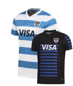 Top Neue 2019 2020 2021 Argentinien Rugby-Trikots T-shirts Home Rugby League Jersey-Shirts S-5XL