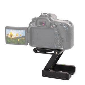 Caméra Trépied Z Type de Pan Tilt Support pliant Tête Photographie studio support approprié pour le support caméra en alliage d'aluminium coulissant